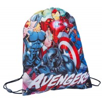 Marvel Avengers Boys Drawstring Bag