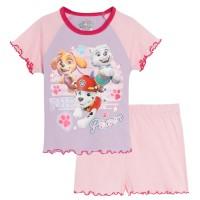 Girls Paw Patrol Short Pyjamas Skye Everest Kids Shortie Pjs Set Nightwear Size