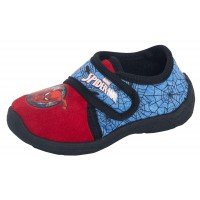 Boys Spiderman Easy Fasten Slippers