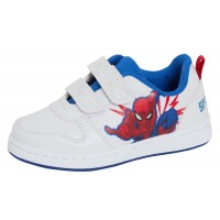 Boys Spiderman Sports Trainers Kids Marvel Lightweight Easy Fasten Skate Shoes