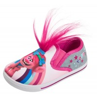 Girls Trolls Poppy 3D Canvas Pumps