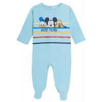Baby Boys Mickey Mouse Babygrow Toddlers Daffy Duck Pluto One Piece Sleepsuit