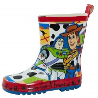 Disney Boys Toy Story Wellington Boots  3D Buzz and Woody