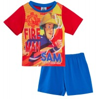 Fireman Sam Shortie Pyjamas