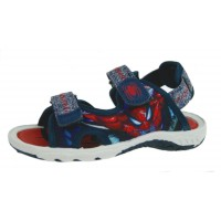 Spiderman Sports Sandals - Red / Navy