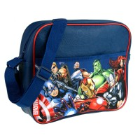 Marvel Avengers Blue Messenger School bag