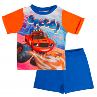 "Blaze And The Monster Machines Short Pyjama Set ""Speed!"""