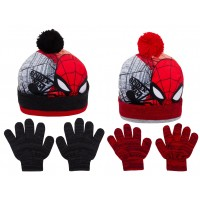 Spiderman Hat And Glove Winter Set